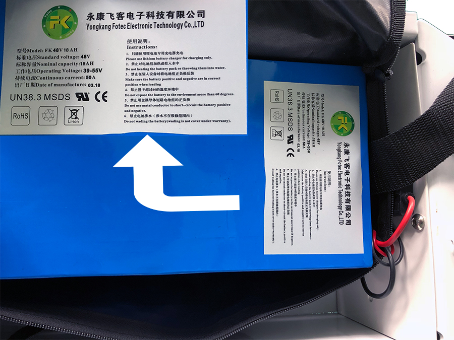 Lithium Battery Pack 48v 18 AH