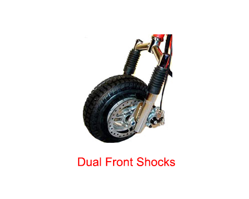Fastest All-Terrain 49cc 2 Stroke Gas Motor Scooter