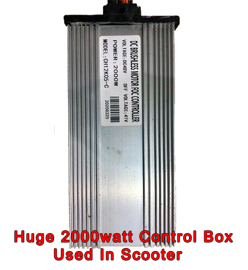 Huge 2000watt Control box used in Scooter