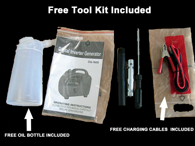 Free Tool Kit Included