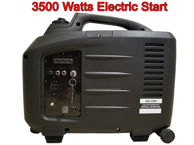 DG-3500 electric start