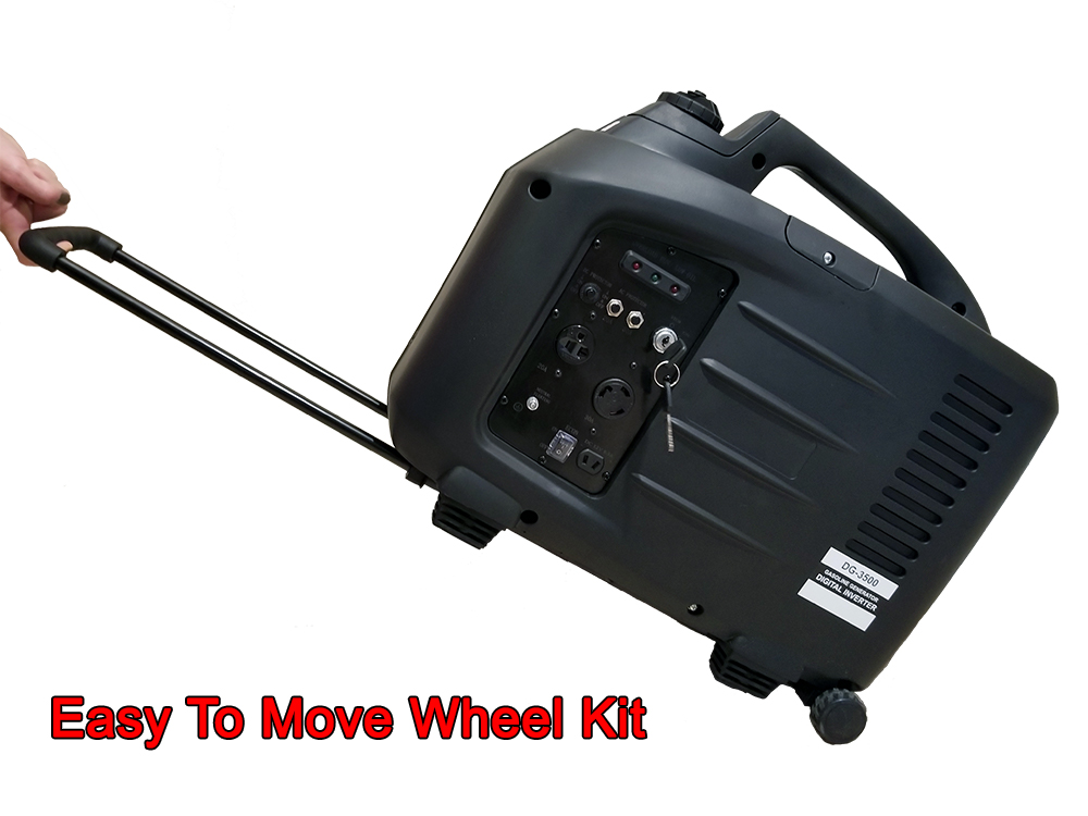 Easy to move wheel kit
