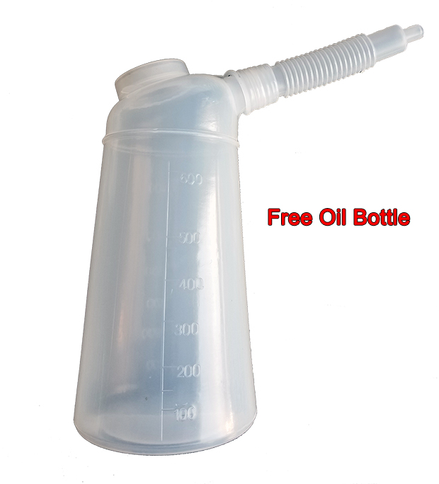 DG3500 free oil bottle
