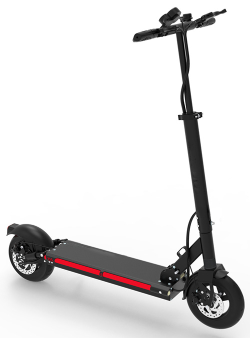 Urban 600watt 48v Lithium Max X9 Electric Scooter front right side view