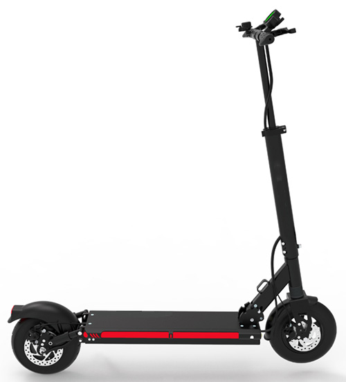 Urban 600watt 48v Lithium Max X9 Electric Scooter right side view