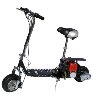 Fastest All-Terrain 49cc 2-Stroke Gas Motor Scooter
