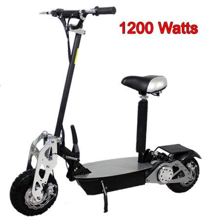 Super Chrome 1200 Watt Electric Scooter