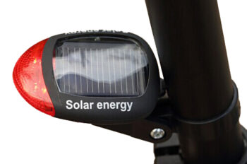 Rear Solar Light