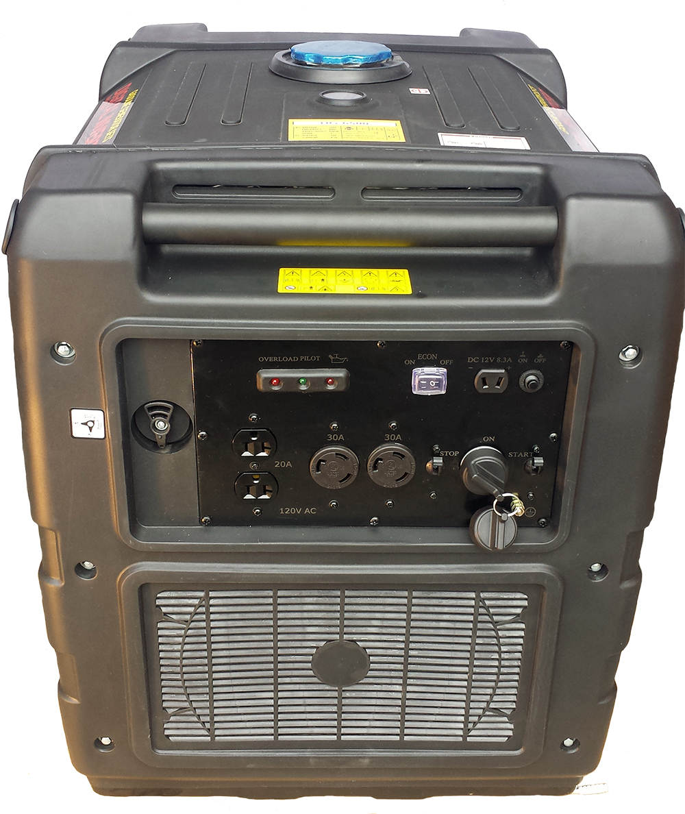 Digital DG-6500 watt Pure Sine Wave Inverter Generator