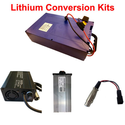 Lithium Conversion kits 48v 50a 20ah or 36v 30a 18ah