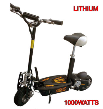 Super Lithium 1000 watt Electric Scooter