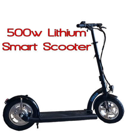 Smart Urban 500 watt Lithium Electric Scooter