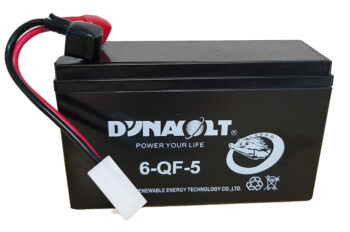 Battery with cables