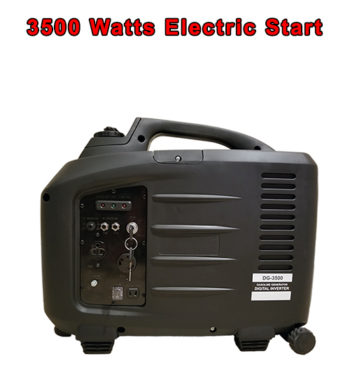 Electric Key Start PureWave DG-3500 watt Digital Generator Inverter