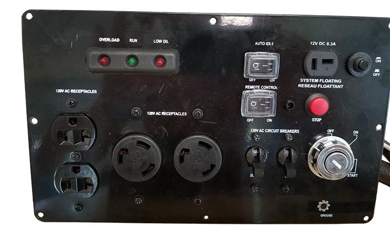 DG-6500 Front Panel