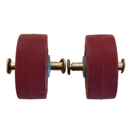 Pair Of Rolling Wheels