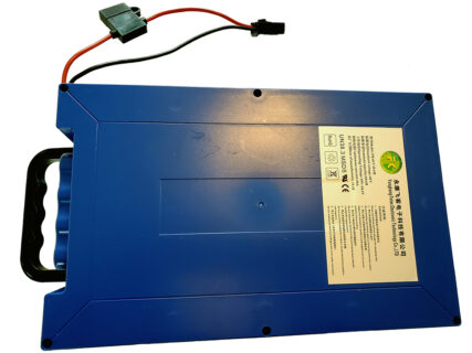48v 50a 20ah Lithium Battery Pack with hard shell and carry handle