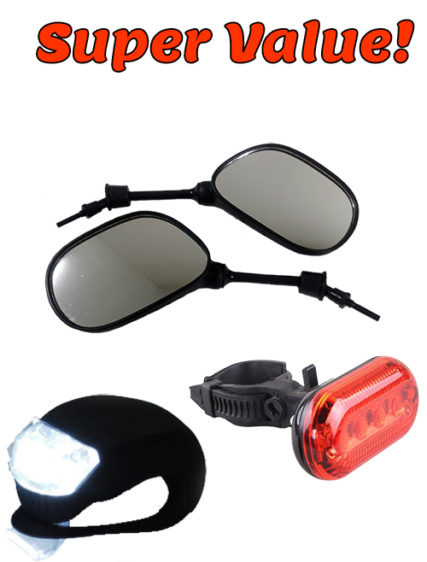 Safety Light Package & Mirrors