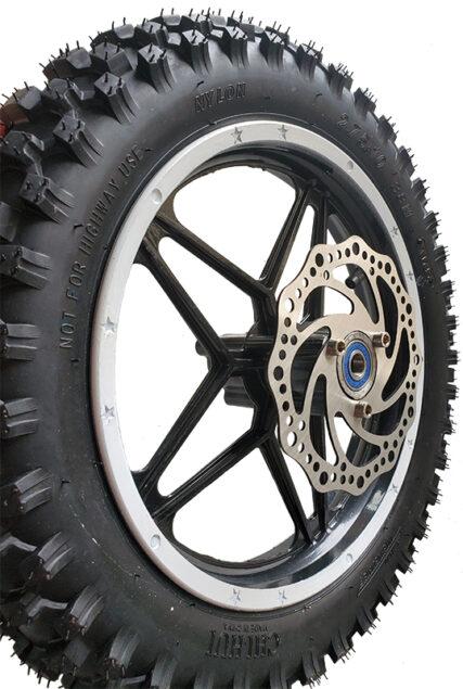 1800 Watt Completely Assembled Front Wheel