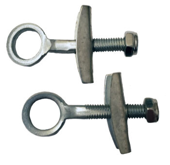 Pair of chain tighteners