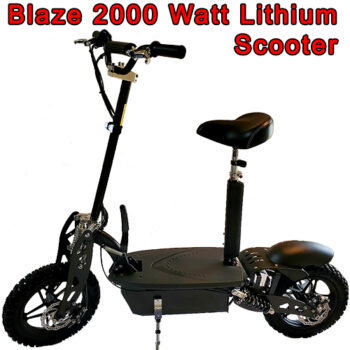 Blaze 2000 watt lithium electric scooter