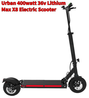 Urban 400watt 36v Lithium Smart Electric Scooter