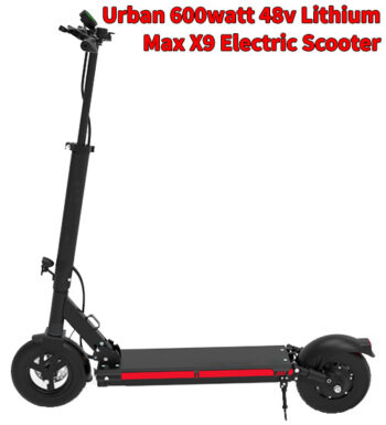 Urban 600watt 48v Lithium Smart Electric Scooter
